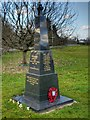 SJ8282 : Morley Green War Memorial by David Dixon