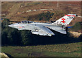 NT3125 : A low flying RAF Tornado in the Yarrow Valley by Walter Baxter