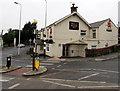 SN5803 : Zebra crossing to the Black Horse Inn  in Hendy near Pontarddulais by Jaggery