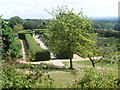 TQ4551 : The Golden Rose Walk at Chartwell by David Hillas