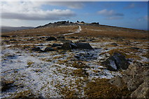 SX5476 : View towards Great Staple Tor by jeff collins