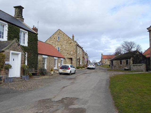 Village street in Summerhouse