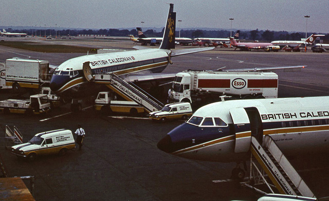 Gatwick Airport in 1973