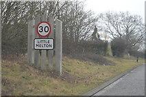 TG1607 : Entering Little Melton by N Chadwick