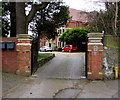 ST1378 : Entrance to Grade II listed Radyr Chain, Cardiff by Jaggery