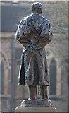 SO8554 : Elgar statue, High Street, Worcester by Bob Embleton