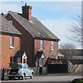 TQ6249 : Houses on Blackman's Lane by Oast House Archive