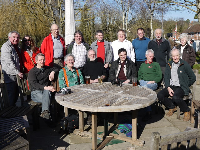 Geograph 10th Birthday Meet, The Rowbarge, Woolhampton