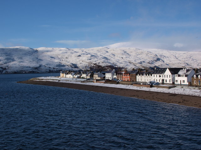 West Shore Street and Ullapool Point