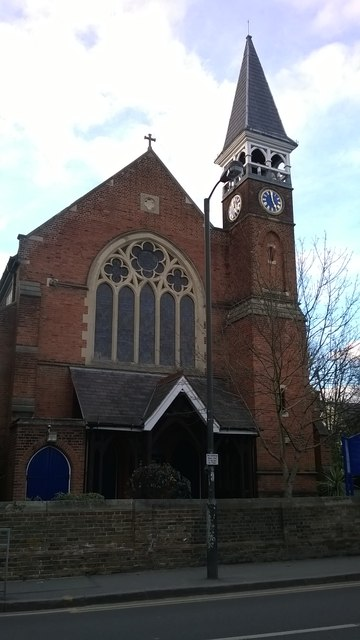 Emmanuel Church, the Ridgway, Wimbledon