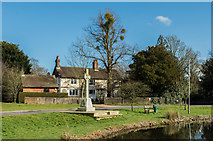TQ2250 : Buckland War Memorial by Ian Capper