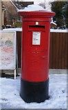 TF1505 : Pillar box at Glinton Post Office by Paul Bryan