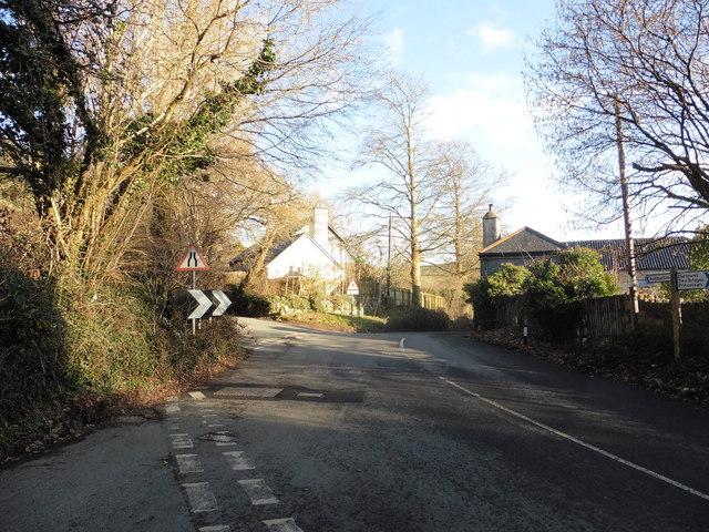 Unusual cross-roads, Ashburton