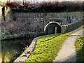 SD8232 : North East Portal of Gannow Tunnel, Leeds and Liverpool Canal by David Dixon