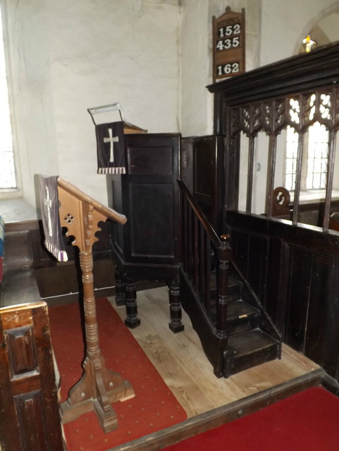 Pulpit & Lectern of St.Mary's Church