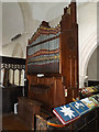 TM0276 : Organ of St.Mary's Church by Adrian Cable