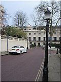 TQ2882 : Lampposts on Cumberland Place by David Anstiss