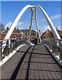 TF3244 : St Botolph's Footbridge, Boston by David P Howard