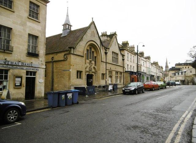Bath, St. Michael's Church House