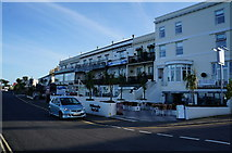 SX9265 : Businesses on Babbacombe Downs Road by Ian S