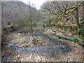 SD9728 : The Mill Pond to Upper Lumb Mill, Colden Valley by Michael Steele