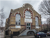 TQ3179 : Webber Street Day Centre, Ufford Street, London SE1 by Christine Matthews