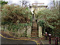 ST0790 : Long flight of steps up from Ynysangharad Road, Pontypridd by Jaggery