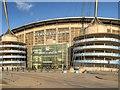 SJ8698 : Etihad Stadium, Colin Bell Stand by David Dixon