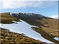 NX5997 : Snow patches, Gairy of Cairnsmore by Alan O'Dowd