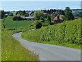 SO7659 : Hopehouse Lane towards Hopehouse Farm by Mat Fascione