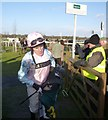 TF9228 : Jockey A P McCoy leaves the winners enclosure at Fakenham Racecourse by Richard Humphrey