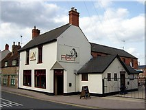 TF0920 : The Red Lion at Bourne, Lincolnshire by Rex Needle