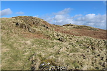 NX6082 : Cairn on Waterside Hill by Billy McCrorie