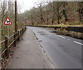 SS8695 : Bends ahead on the A4107, Cymmer by Jaggery