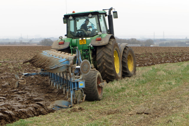Spring Ploughing near Worlaby