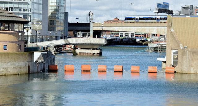 New Lagan weir footbridge, Belfast - March 2015(7)