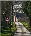 TA1552 : Lane into Dunnington by Paul Harrop