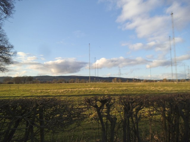 Woofferton Transmitting Station Masts