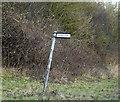 TM1077 : Dam Lane sign by Geographer