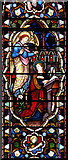 TQ3385 : St Mark, Dalston - Stained glass window by John Salmon