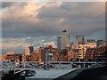 TQ3580 : River Thames, London SE16 by Christine Matthews