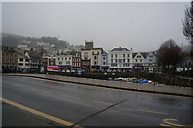 SX8751 : Looking west across Dartmouth Harbour by Ian S