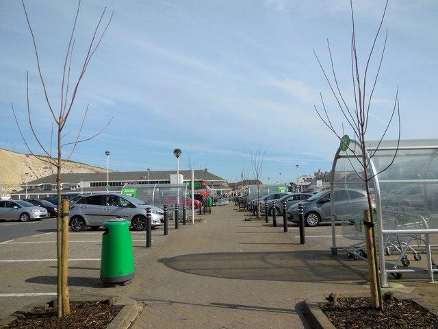 Asda Car Park, Brighton Marina