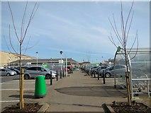 TQ3303 : Asda Car Park, Brighton Marina by Paul Gillett