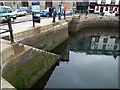 SX4854 : Steps by The Parade, Sutton Harbour by Derek Harper