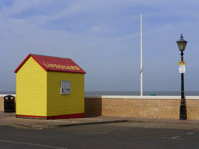 Lifeguard hut in Herne Bay