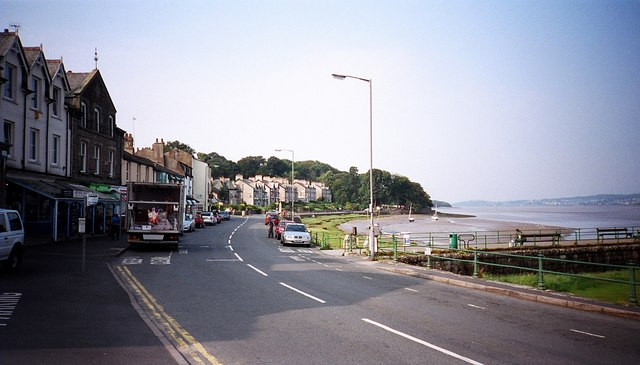 Arnside promenade