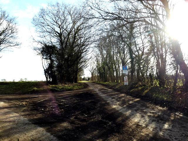 Green Lane, Syleham