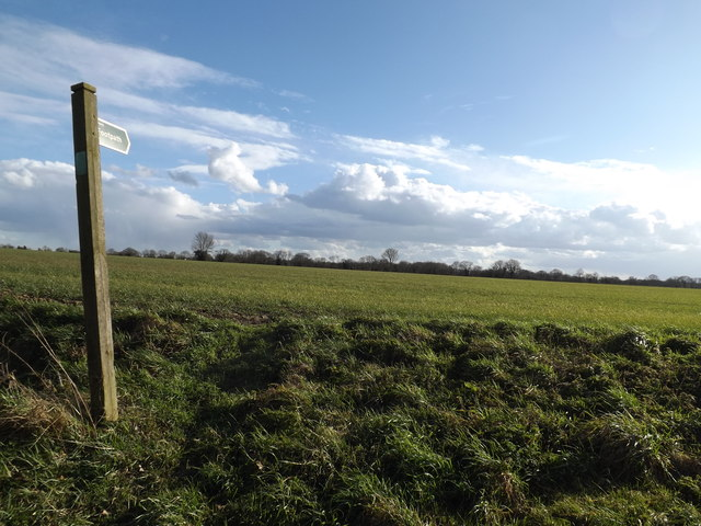 Footpath off Hoxne Road
