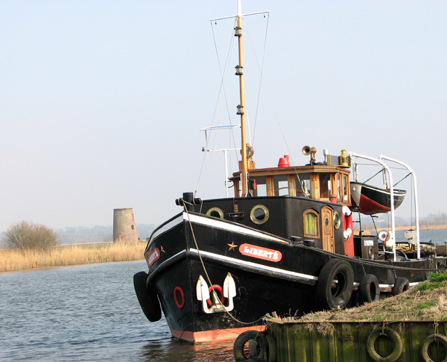 Dutch tug on the River Yare